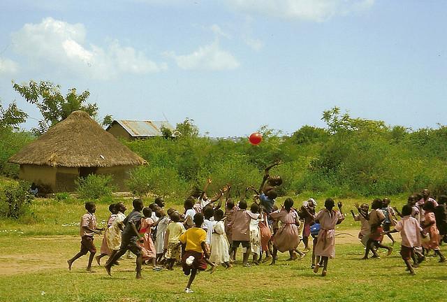 Kenya: Colors of Christmas by Lydia Taylor - Village Volunteers