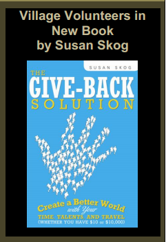 Village Volunteers in New Book by Susan Skog