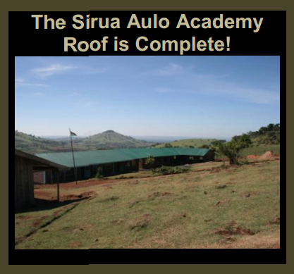 Kenya: Sirua Aulo Academy's New Roof is Complete!