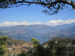 What it's like to be at Mountain View Eco Farm, Nepal